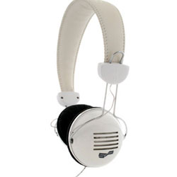Retro Headphones R2 White