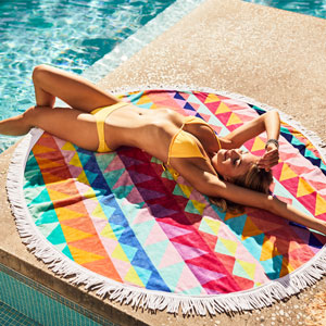 Round Towel Tangalle