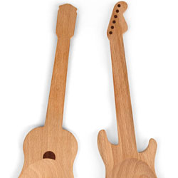 Rockin Guitar Salad Servers