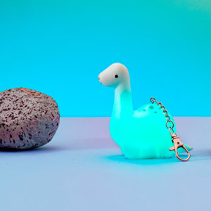 Roarsome Dinosaurs Light Up Keyring