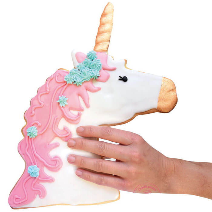 XXL Unicorn Cookie Cutter