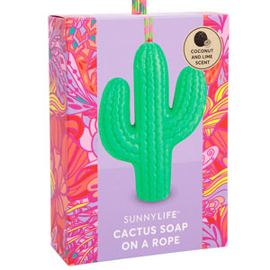 Cactus Soap on a Rope
