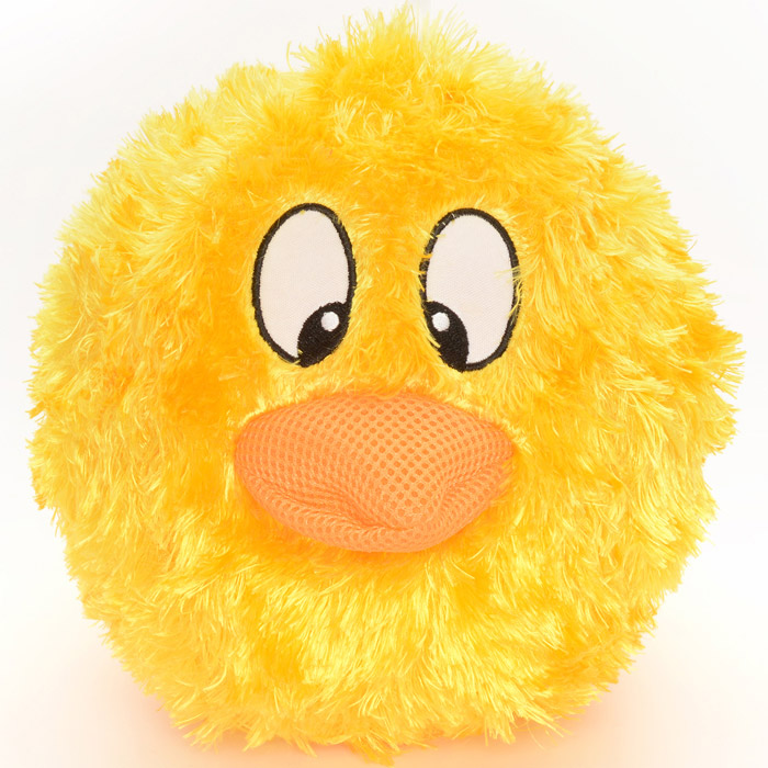 Inflatable Funny Face Furry Ball