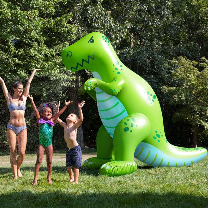 Riesiger Dinosaurier Gartensprinkler
