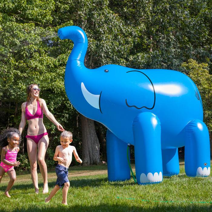 Ginormous Elephant Yard Sprinkler