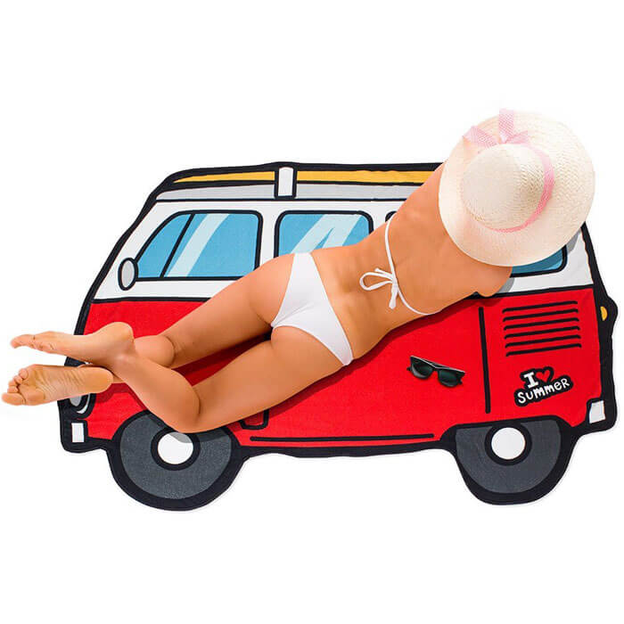 Campervan Beach Towel