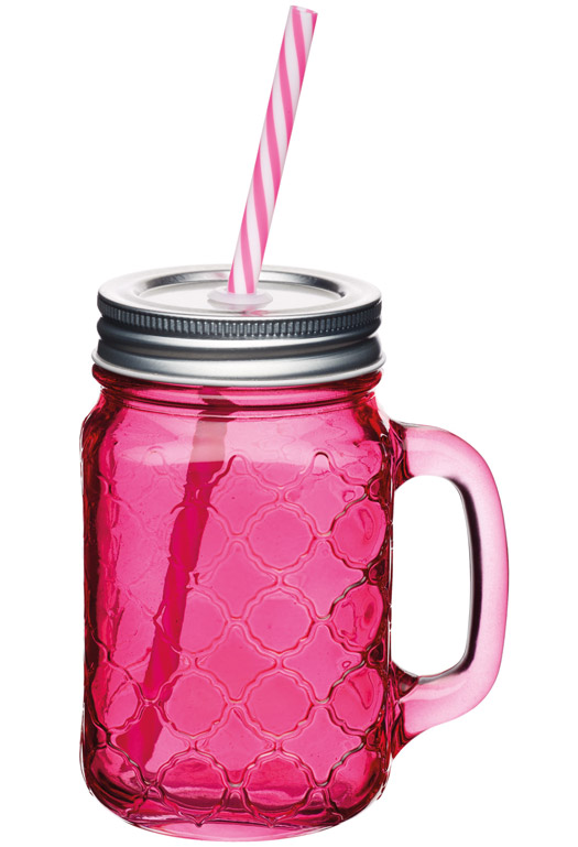 Glass Drinks Jar Set of 6
