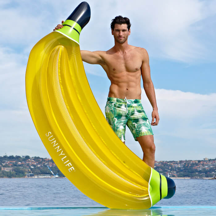 Lie-On Float Banana