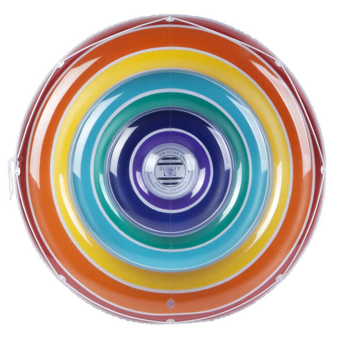 Luxe Twin Float Rainbow