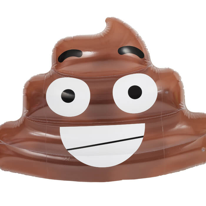 Emoji Poo Float