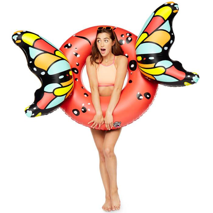Ciambella Gigante con Ali di Farfalla