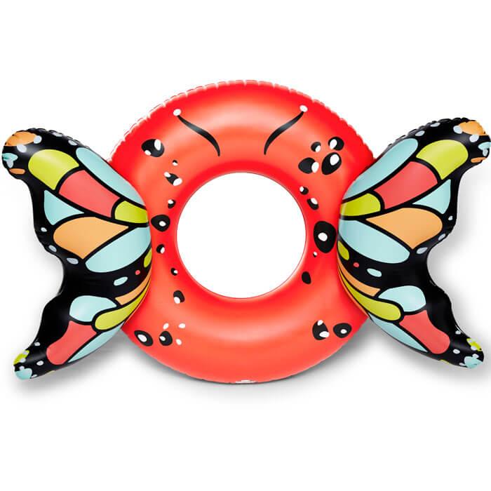 Bouée Gonflable Géante Ailes de Papillon