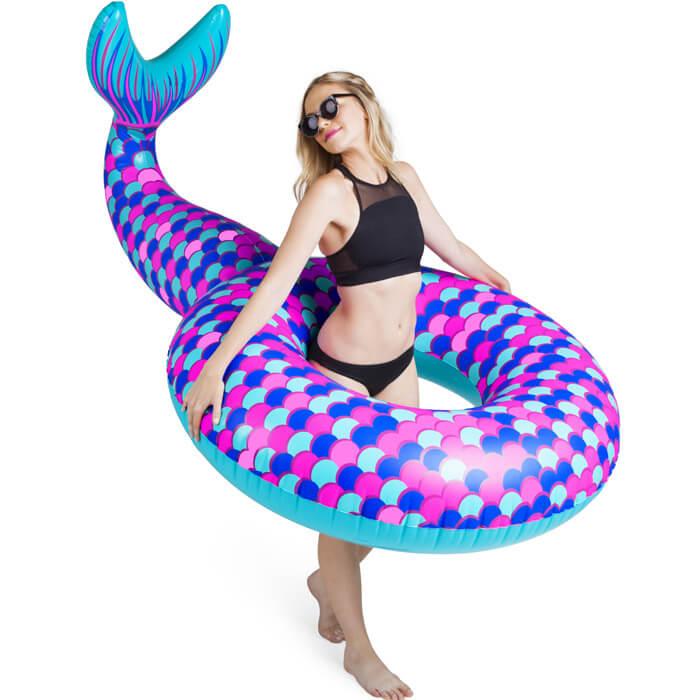 Giant Mermaid Tail Pool Float