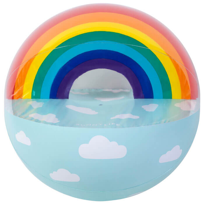 XL Inflatable Beach Ball Rainbow