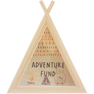 Teepee Money Box