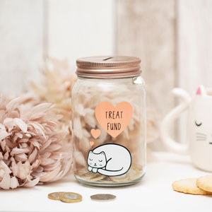 Cutie Cat Money Jar
