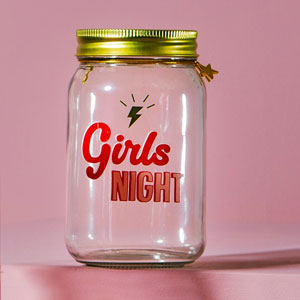 Girls Night Money Jar