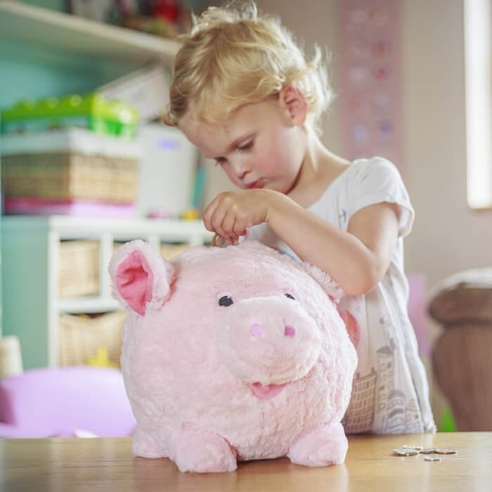 Cuddly Piggy Bank