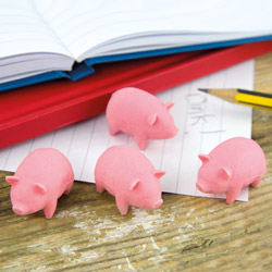 Bacon Scented Erasers