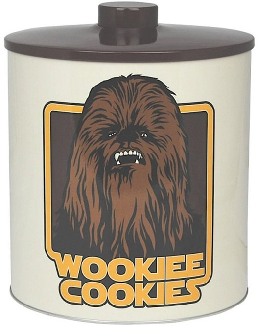 Star Wars Wookiee Cookie Biscuit Barrel