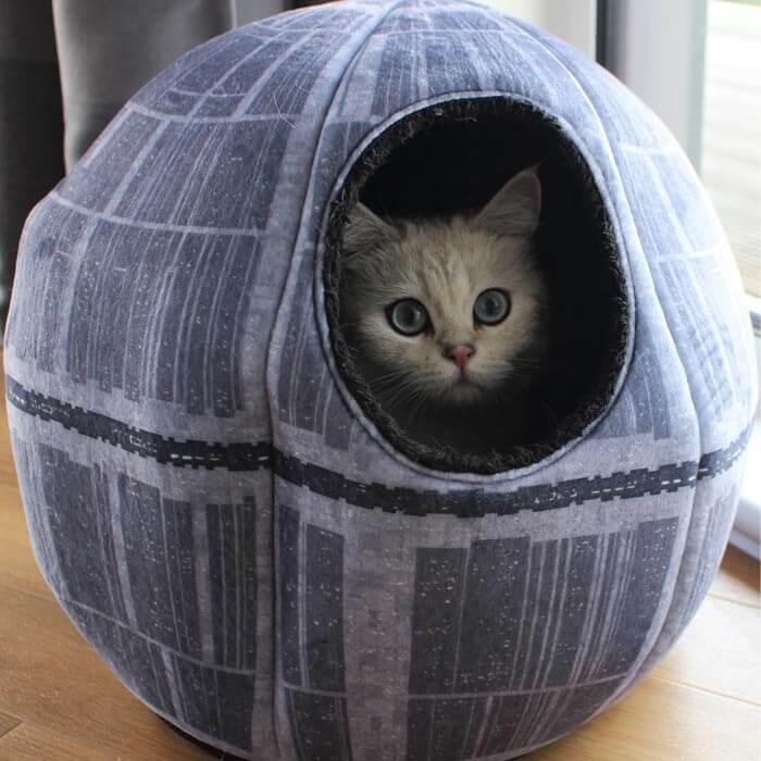 Star Wars Todesstern-Katzenhöhle