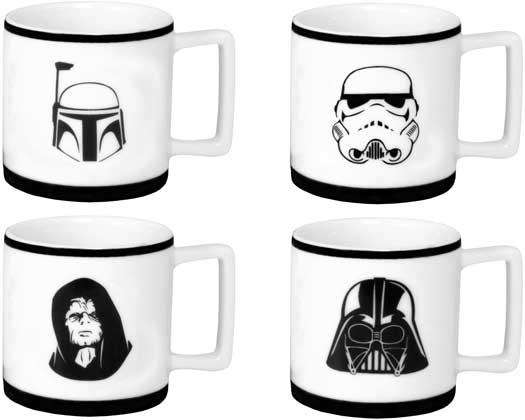 Star Wars Espressotassen Set