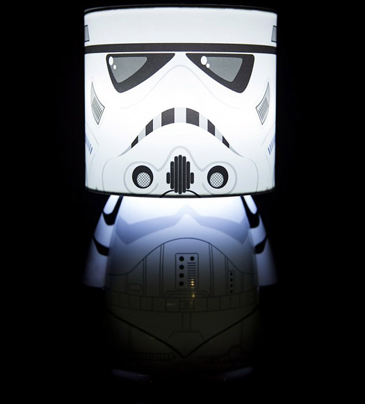star wars stormtrooper lampe gadgets und geschenke. Black Bedroom Furniture Sets. Home Design Ideas