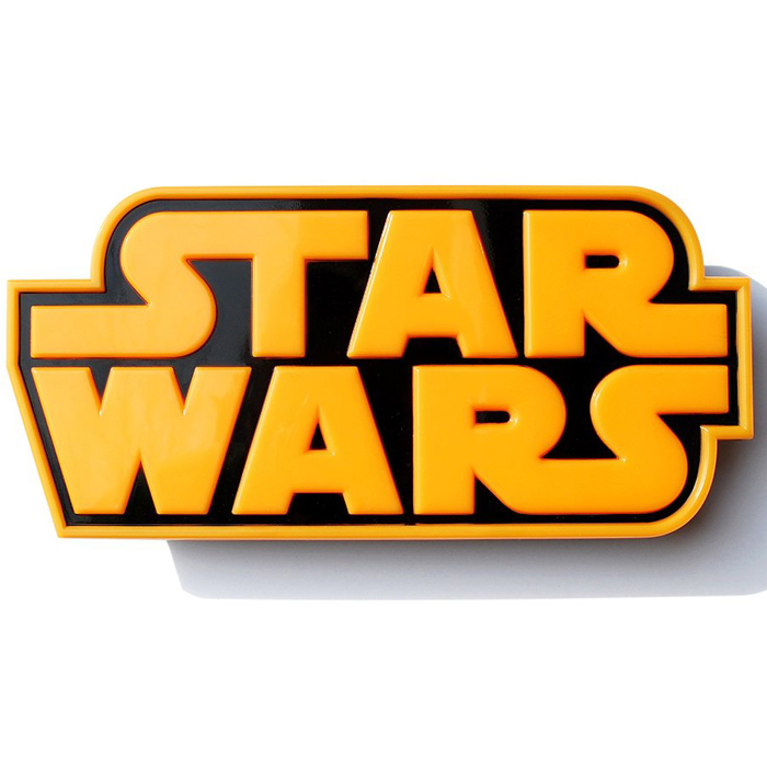 Star Wars Logo 3D Wall Deco Light