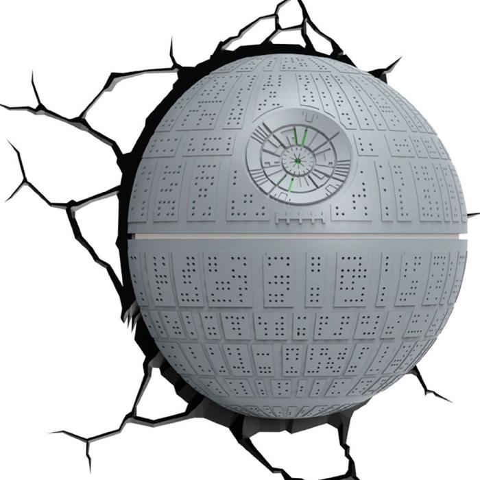 Star Wars Todesstern Wandleuchte