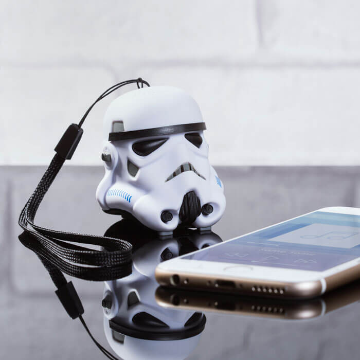 Mini Cassa Bluetooth Stormtrooper