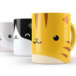 Decalize Your Mug Cat