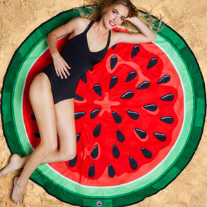 Giant Watermelon Beach Blanket