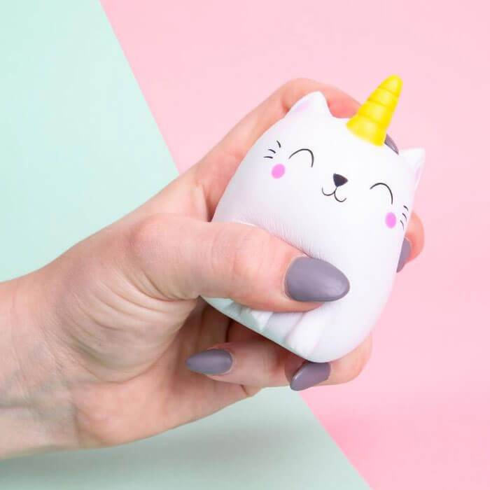 Pallina Antistress Kittycorn