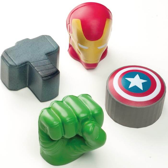 Balles Anti-Stress Marvel Avengers