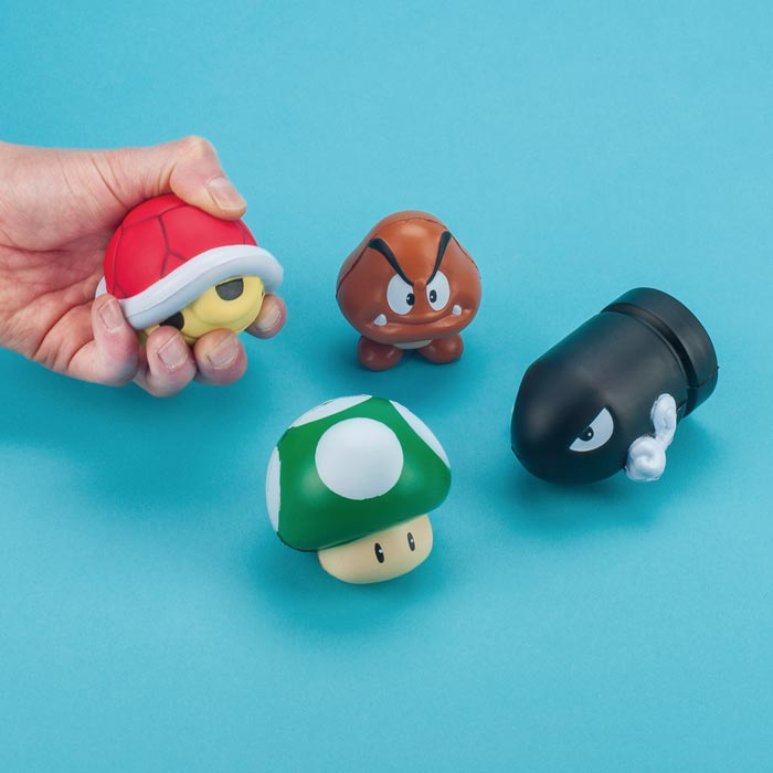 Super Mario Stressball-Set