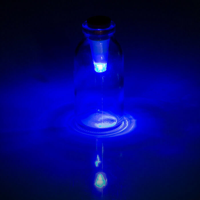 Multicolour Flaschenlicht
