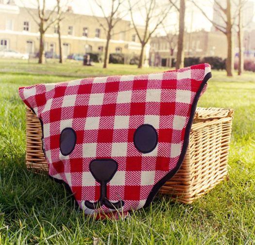 Picknickdecke Bärenfell