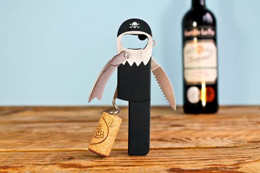 Korkenzieher Pirat