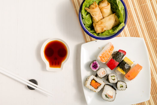 Sushi Set Totenkopf