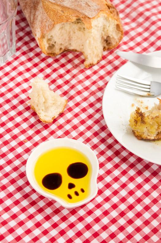 Skull Soy Dish