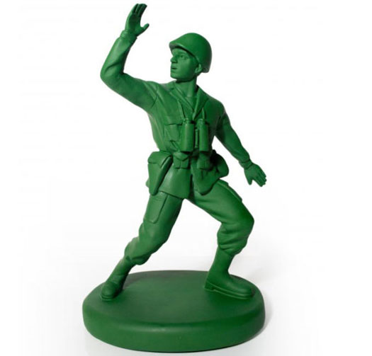 Türstopper Soldat