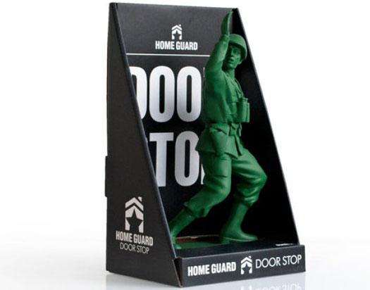 Toy Soldier Shaped Door Stop Homeguard