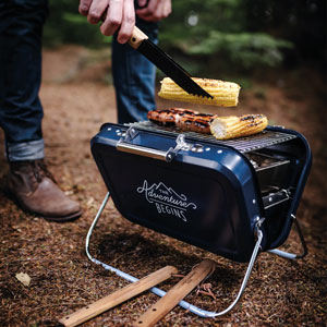 Suitcase Barbeque