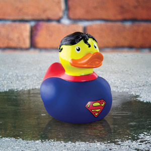 Superman Bath Duck