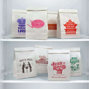 Take-Out Fake-Out Paper Lunch Bags