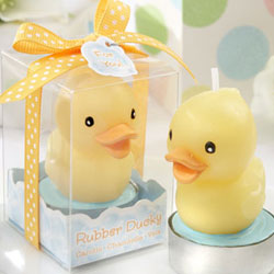 Rubber Ducky Candle Set of 4