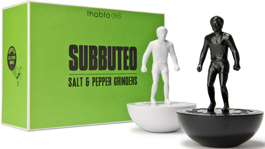 Subbuteo™ Salt & Pepper Grinders