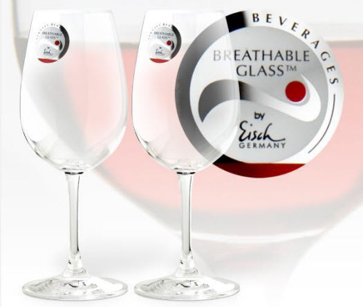 Two Breathable Wine Glasses