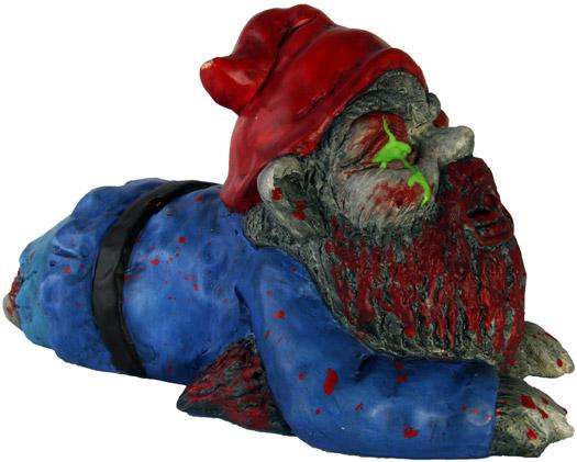 Gartenzwerg - Kriechender Zombie