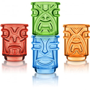 Tiki Shot Glasses
